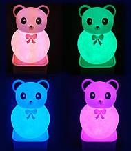 Светильник медведь Панда (voice control night light) 18 см FMF