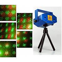 """Лазерный проектор """"Звездное небо"""" светомузыка для дома"""