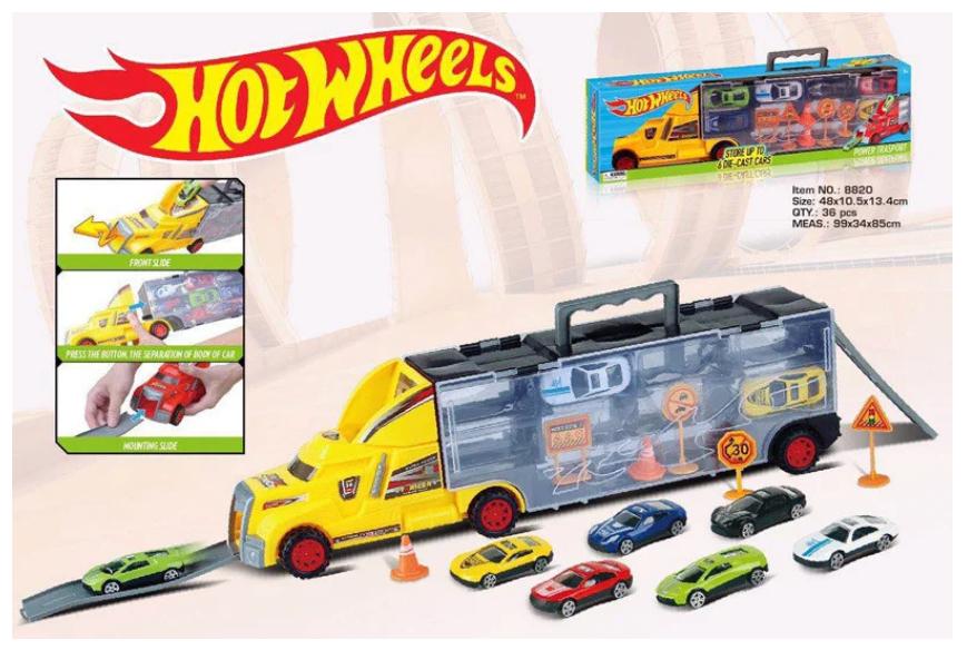 Трейлер Hot Wheels