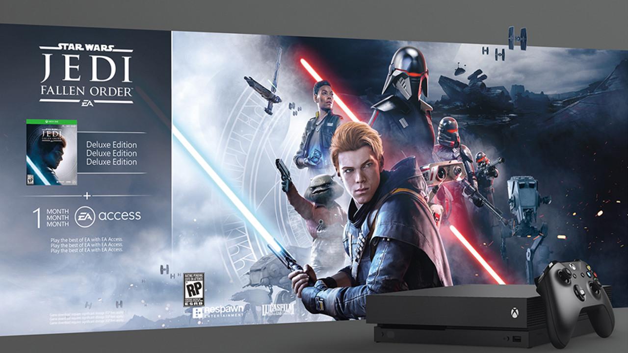 Microsoft Xbox ONE X 1TB+Star Wars Jedi: Fallen Order