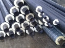 Теплоизолированные стальные трубы 325/450 мм в ПЕ оболочке , фото 1