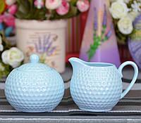 Набор фарфоровый Молочник и сахарница Elegant SKL79-208328