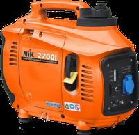 Однофазный иверторный бензиновый генератор NiK PG2700i (2,7 кВт)