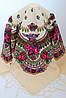 Платок украинский народный (120х120) код 630004, фото 3