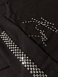 Гольф со стразами Kazee Турция люкс черный, фото 4