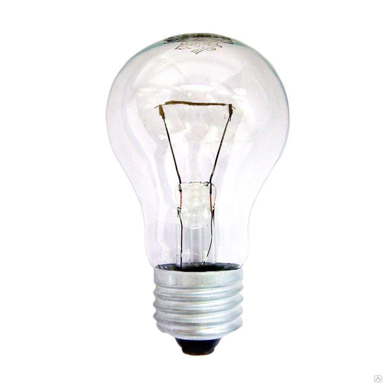 Лампа накаливания низковольтовая  МО 12 Вольт 40 Ватт Е27