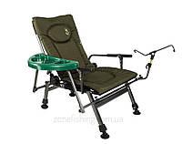 Кресло карповое складное Elektrostatyk F5R ST/P со столиком