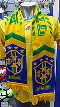 Шарф болельщика сборной Бразилии