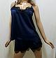 Красивая женская шелковая пижама M L XL Бесплатная доставка Justin!, фото 3