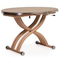 Стол обеденный TMT-33 кремовый 105*(67-105)*(27,5-74)   Vetro