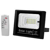 Прожектор JD-8810 10W SMD, IP67, солнечная батарея, пульт ДУ, встроенный аккумулятор