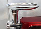 Кухонный комбайн Crownberg CB 3404 3 в 1 2200 Вт Тестомес Мясорубка Блендер, фото 9