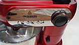 Кухонный комбайн Crownberg CB 3404 3 в 1 2200 Вт Тестомес Мясорубка Блендер, фото 2