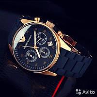 Наручные часы Emporio Armani ( темно - синие)