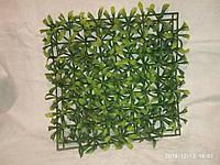 Стенка трава пластик. Декор в террариума, аквариум. 23*23 см.