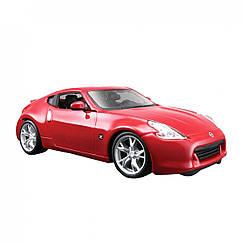 Коллекционная машинка 2009 Nissan 370Z Красная 18 см. Оригинал Maisto 31200