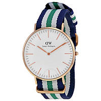 Часы Daniel Wellington ( green-blue-white )