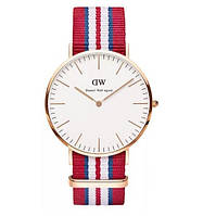 Часы Daniel Wellington ( blue-white-red )