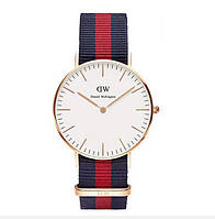 Часы Daniel Wellington ( red blue )