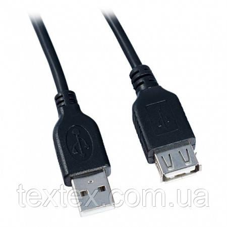 Кабель USB 2.0 AМ/АF экранированный c фильтрами длина 0,5 м