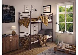 Кровать металлическая Маранта (2 яруса) Тенеро 900х1900(2000)