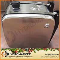 Гидробак бокового крепления 160 л алюминиевый (62х40х67), фото 1