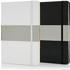 Блокнот в твердой обложке формат A5 на резинке (80 листов)