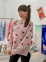 Шикарный свитер в стиле оверсайз, фото 1