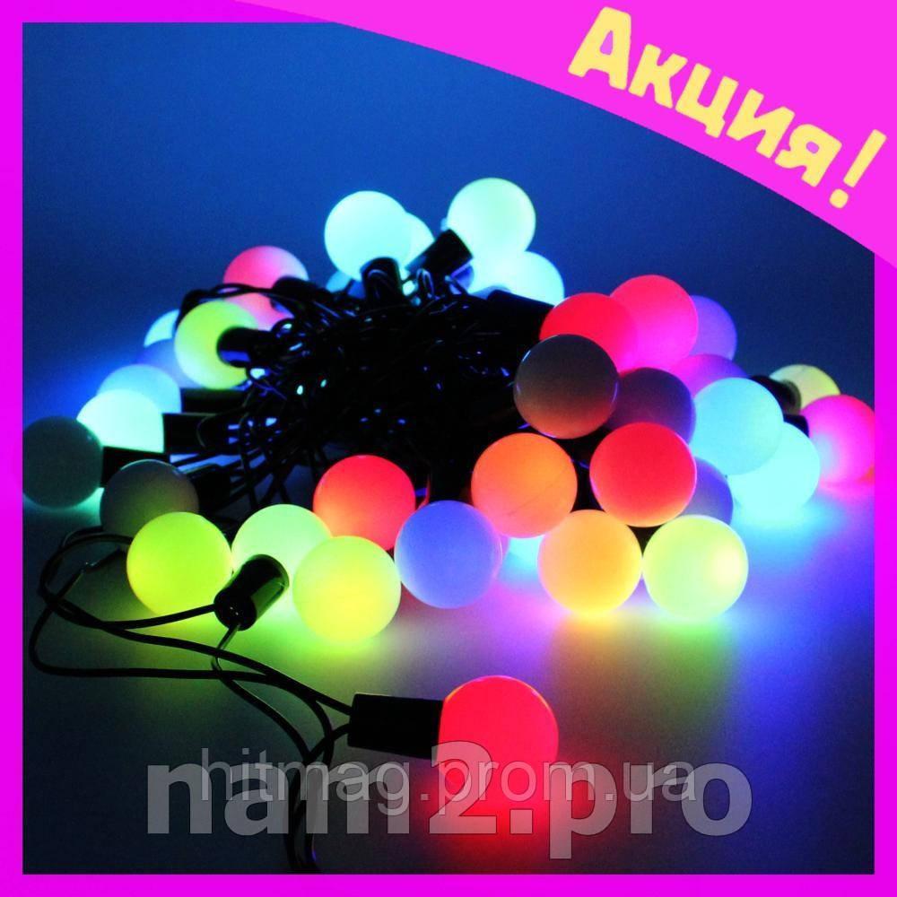 Светодиодная гирлянда создаёт незабываемую атмосферу нового года!