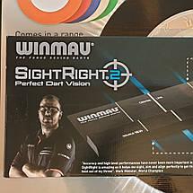 Отметка дартс для точных бросков (крепится на пол) Winmau, фото 3