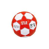 Мяч футбол STAR красный