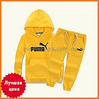 Детский утепленный костюм puma | спортивные костюмы на флисе