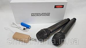Професійні мікрофони Temeisheng Langting L-88 бездротові мікрофони з передавачем