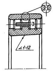 Подшипник 3182111 (NN3011 ) GPZ-1, фото 2