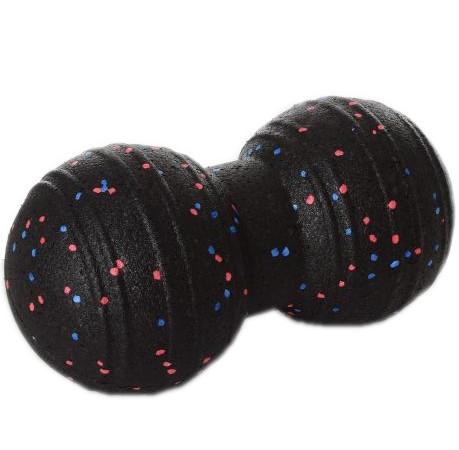 Мяч массажный двойной (MS 2758) EPP 23x11см Черный