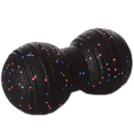 Мяч массажный двойной (MS 2758) EPP 23x11см Черный, фото 2