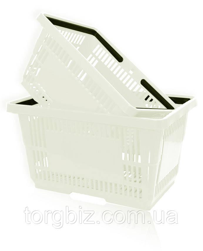 Покупательская корзина для супермаркетов прозрачная и др.