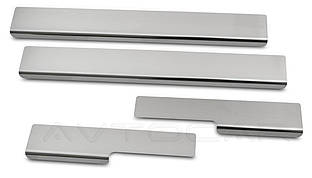 Накладки на пороги FORD GRAND C-MAX  с 2010- комплект 4 шт. (NataNiko Standart)