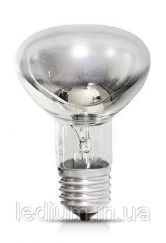 Лампа накаливания рефлекторная R80 100 Ватт Е27