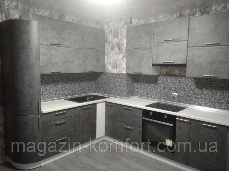 Кухня бетон серый купить формы для бетона в волгограде