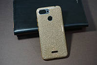 Чехол бампер силиконовый для Xiaomi Redmi 6 Ксиоми Сяоми Glitter с блестками