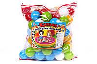 """Іграшка """"Набір кульок для сухих басейнів ТехноК"""", 4548 (2шт) в пак. 52 х 49 х 30 см"""