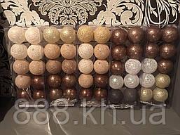 Гирлянда Тайские фонарики Cotton Balls 10 шаров 1.8 метра диаметр 6см