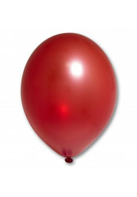 Повітряні кулі металік червоний 30 см BelBal Бельгія 5 шт