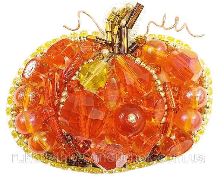 """Набор для изготовления броши Crystal Art """"Тыква"""" БП-242"""