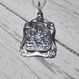 Серебряная подвеска Святая Троица