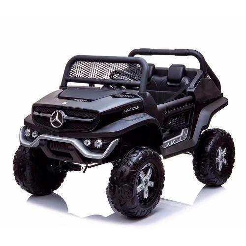 Детский электромобиль Джип M 4133EBLRS-2 крашенный черный