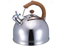 Чайник Газовый Со Свистком Из Нержавеющей Стали Bohmann BH - 9980 GDO Обьем 4 Л