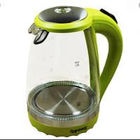 Чайник Стеклянный Электрический С Подсветкой Rainberg RB-701