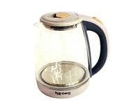 Чайник Стеклянный Электрический С Подсветкой Rainberg RB-902, фото 1